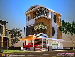 luxury sloped roof house keralahousedesigns 2 cents small plot
