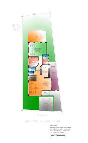 house design exercise narrow house scheme two eugene t