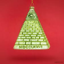 dollar pyramid ornament archie mcphee