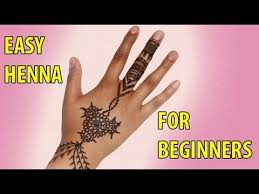 how to apply henna for beginners youtube