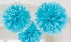 wedding pom poms paper decorations tissue decorations pink