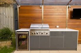 outdoor kitchen cabinets melbourne outdoor kitchen with counter