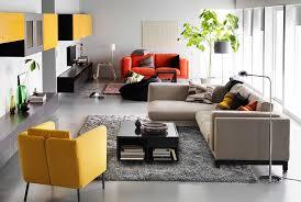 best ikea living rooms gray fur rug on the dark wood flooring sky