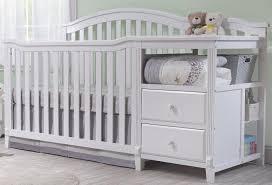 Cribs 4 In 1 Convertible Set Sorelle Berkley 4 In 1 Convertible Crib And Changer White