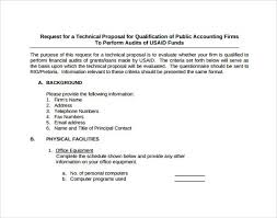technical proposal template technical proposal sample technical