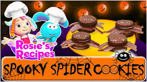 halloween recipes for kids cartoon for kids spooky spider