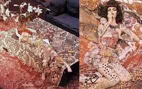 ossie clark into the fashion inspiration vogue 1972 vogue 2008