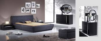 Black And Silver Bed Set Silver Leaf Bedroom Sets Video And Photos Madlonsbigbear Com