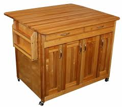 kitchen small black kitchen island with butcher block top and