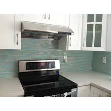 Green Tile Kitchen Backsplash by Decoration Ideas Inspiring Home Interior Design Using Beach Glass