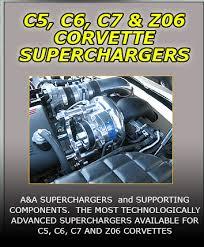 superchargers for corvettes a a corvette performance your c5 c6 and z06 corvette