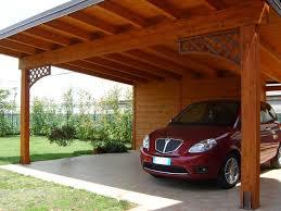 struttura in legno per tettoia come costruire una tettoia di legno lamellare per auto