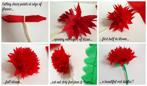 tissue paper flowers classroom decor make your own paper flowers speech room style