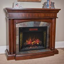 Electric Fireplace With Mantel Electric Fireplace Mantel Packages Mantelsdirect
