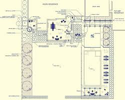 landscape master plan with swimming pool patio outdoor kitchen