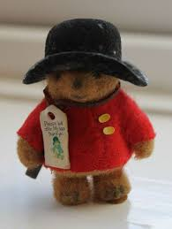 1970 u0027s miniature paddington bear totally