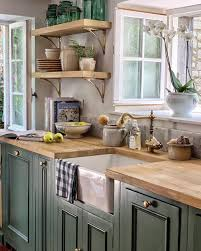 green kitchen cabinets pictures 51 green kitchen designs decoholic