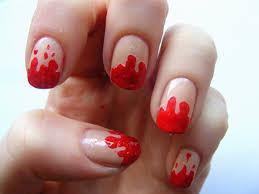 dripping blood nail art gallery nail art designs