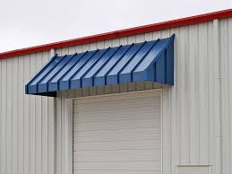 Blue Awning Austin Standing Seam Door Awning