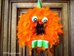 Halloween Monsters For Kids by Halloween Monster Wreath Diy Inspired