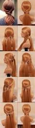 How To Make Easy Hairstyles At Home by 171 Best Braids U0026 Updos Images On Pinterest Hairstyles Make Up