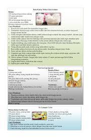 cara membuat nasi goreng ayam dalam bahasa inggris resep masakan
