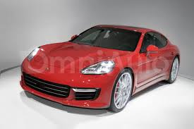 Porsche Panamera Red - 2017 porsche panamera updated rendering