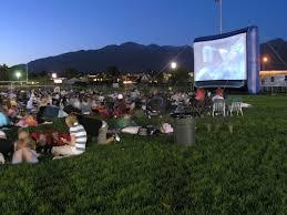 Backyard Projector Screen by Avista Outdoor Movies Inflatable Outdoor Movie Screen Rentals In
