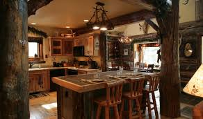 affordable rustic kitchens cabinets with curtains affordable