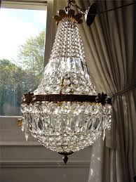 Vintage French Chandeliers Vintage French Empire Crystal Chandelier Lysekrone Pinterest