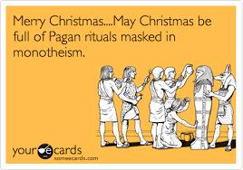 merry may be of pagan rituals masked