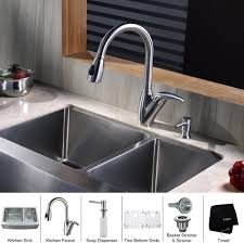 kitchen sinks and faucets designs kitchen stainless steel kraus sink combination for your kitchen