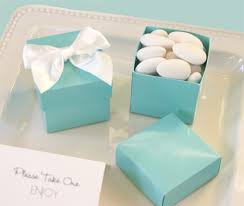 Blue Favor Boxes by Something Blue Favor Boxes Aqua Favor Boxes Wedding Favor Boxes