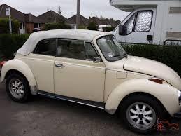 volkswagen bug white 1976 volkswagen beetle convertible triple white