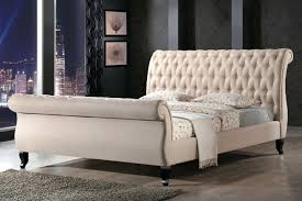 Tufted Sleigh Bed King Upholstered Sleigh Bed King Upholstered Sleigh Bed Upholstered