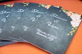 diy wedding programs u2026whose done u0027em weddingbee