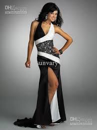 black and white dresses top designer black and white mermaid prom dresses of the 2015