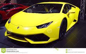 yellow lamborghini front lamborghini huracan sports car front view stock video video