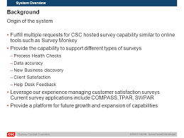 Csc Help Desk Phone Number 8 9 2015 1 47 Am Surveycentraloverview Ppt Csc Copyright 2012