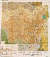 Wisconsin Topographic Map by Soil Map Of North Central Wisconsin Wisconsin Has Quite The