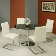 Glass Top Conference Table Glass Top Conference Table And Chairs Set 44 Diameter