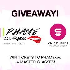 makeup courses los angeles win tickets to phamexpo in los angeles chicstudios master class