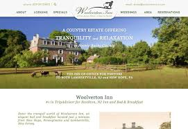 Bed And Breakfast New Hope Pa Bed And Breakfast Website Design Insideout Solutions