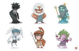 digidestined and tamers greek gods by orichalcosdark on deviantart