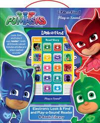 pj masks 8 board books electronic box toys