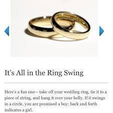 wedding ring test wedding ring gender test mindyourbiz us