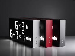 contemporary clock digital wall mounted desk by axel contemporary clock digital wall mounted desk by axel schindlbeck albert clock