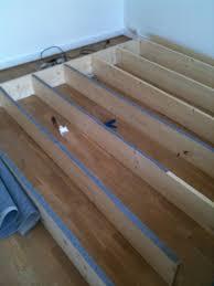 fabriquer tiroir sous lit fabriquer une estrade pour lit meilleures images d u0027inspiration