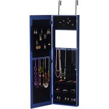 Where To Buy A Jewelry Armoire Innerspace Over The Door Wall Hang Mirrored Jewelry Armoire