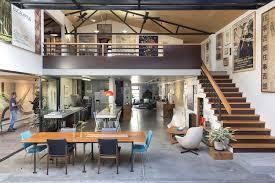urban loft plans chic industrial warehouse in australia offers sleek urban living